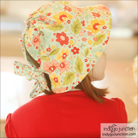 Simple Sunbonnet Hat Pattern