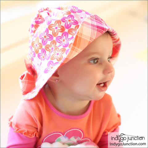 Simple Sunbonnet Hat PDF Pattern