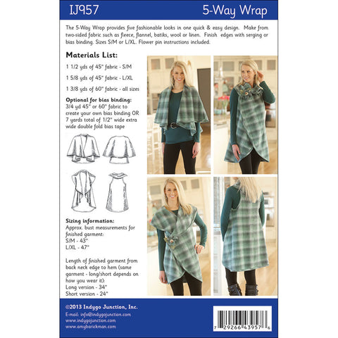 5-Way Wrap Pattern
