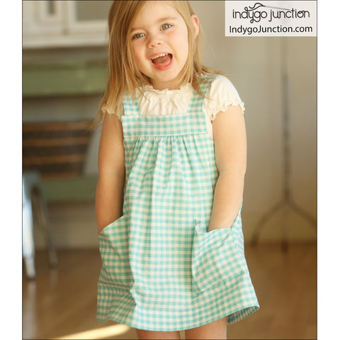 Pint-size Pinafore Pattern