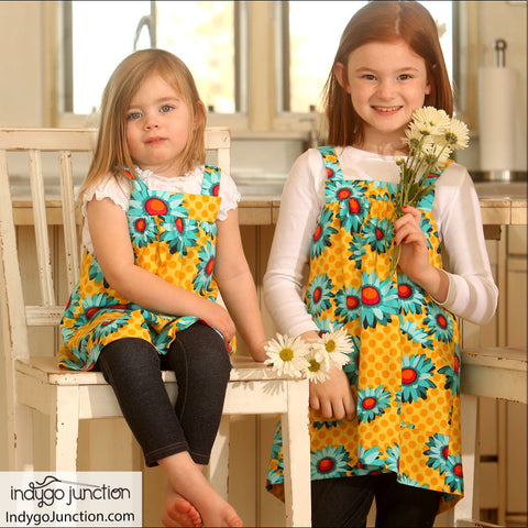 Pint-size Pinafore PDF Pattern