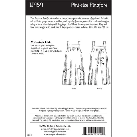 Pint-size Pinafore