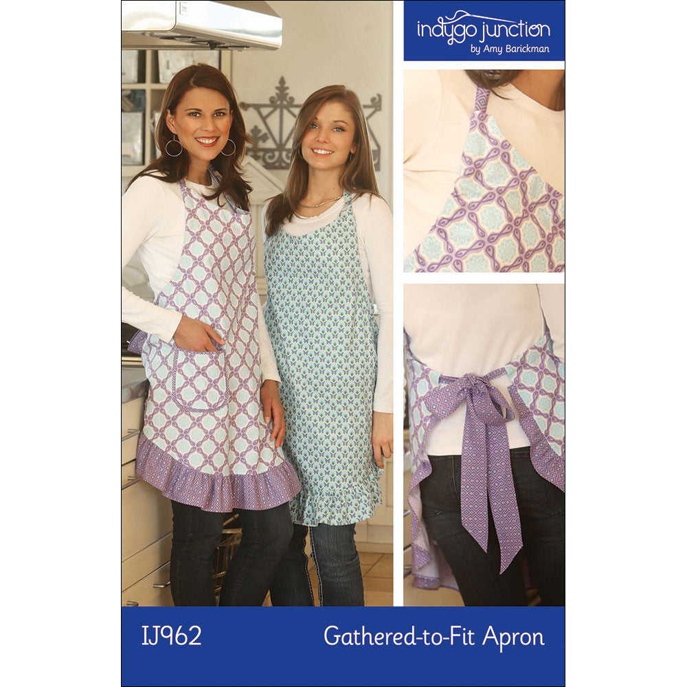 Gathered-to-Fit Apron Digital PDF Pattern
