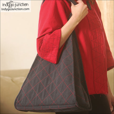 Trapezoid Quilted Tote Pattern