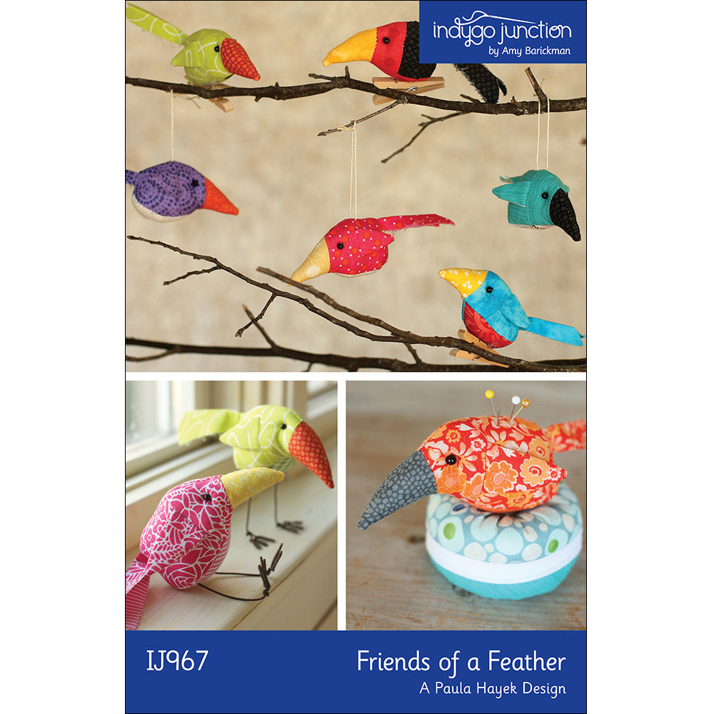 Friends of a Feather Stuffed Bird Pattern