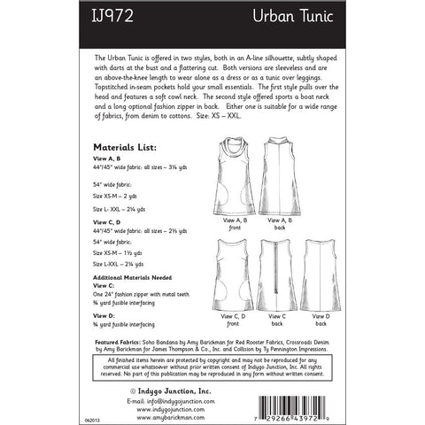 Urban Tunic Pattern
