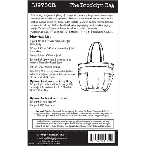 The Brooklyn Bag Pattern