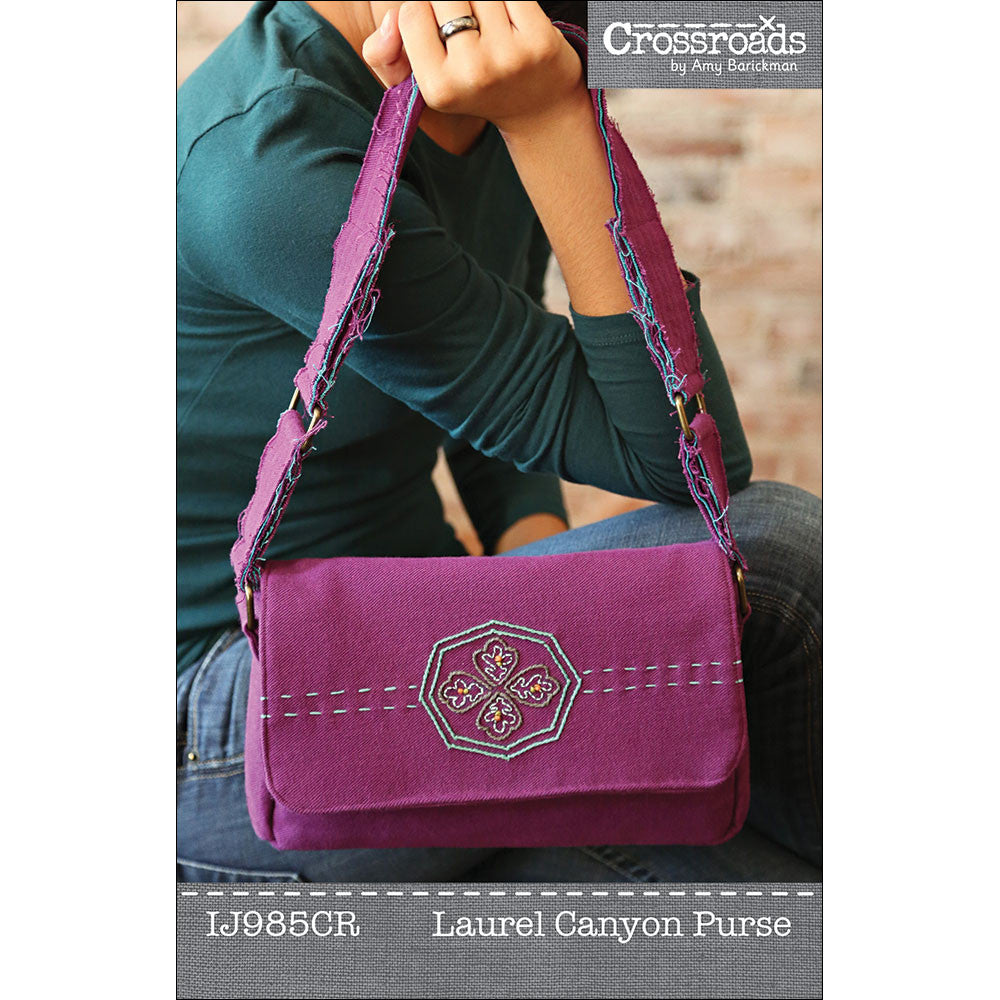 Laurel Canyon Purse PDF Pattern
