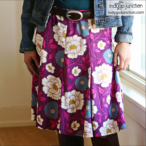 Modern Gored Skirt Pattern