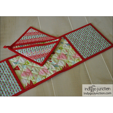 The Quilted Kitchen Potholder Pattern