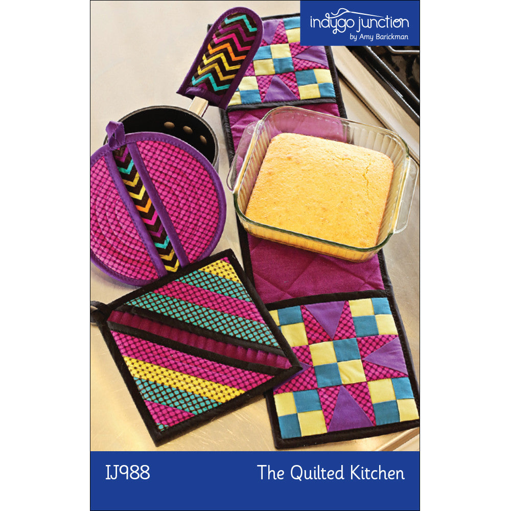 The Quilted Kitchen Potholder PDF Pattern