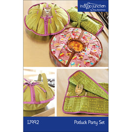 Potluck Circular Casserole & Servingware Party Set PDF Pattern