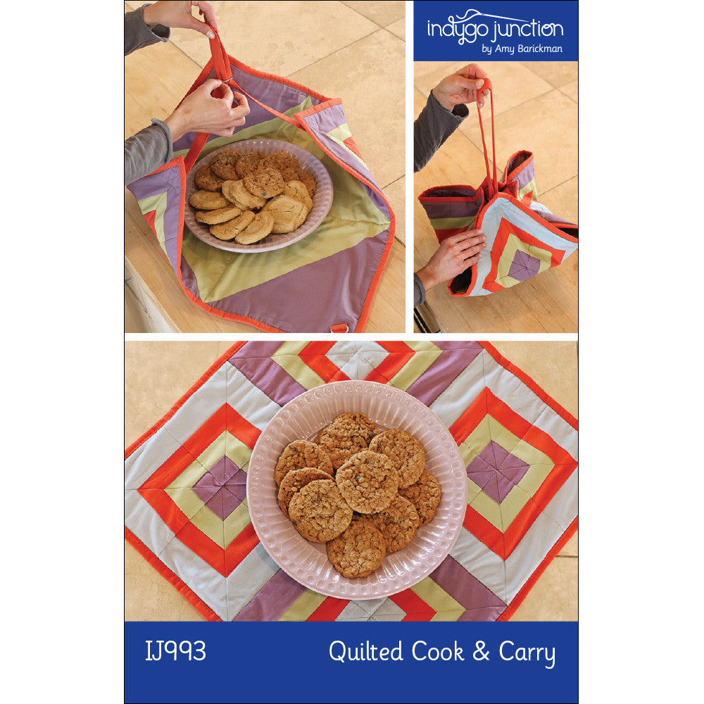 Quilted Cook and Carry Pattern
