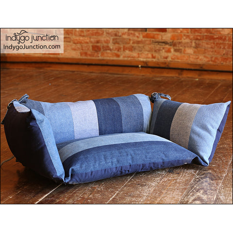 Pieced Pet Bed Pillows Pattern