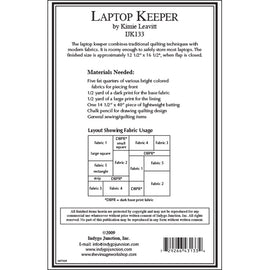 Laptop Keeper PDF Pattern