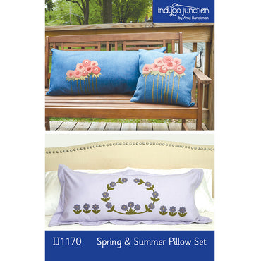 Spring & Summer Pillow Set PDF Pattern