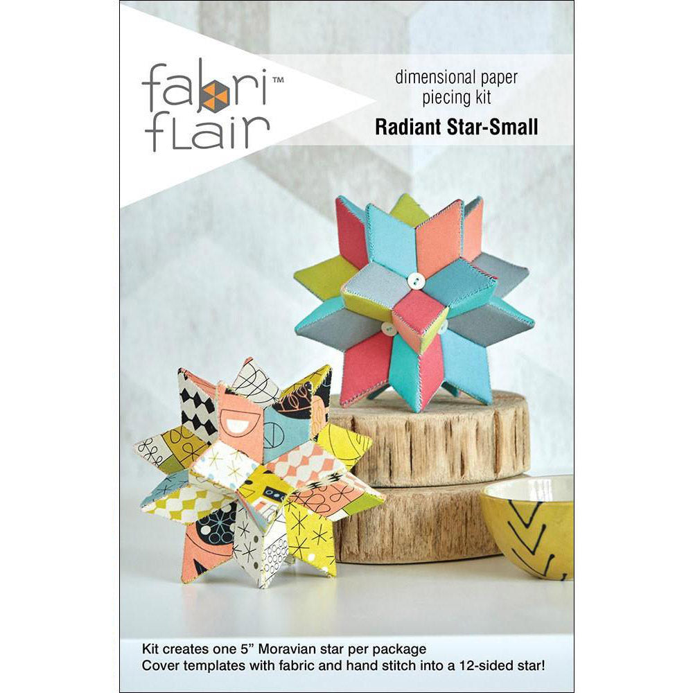 Small Radiant Star Fabriflair Kit