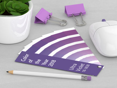Ultra Violet - 2018 Pantone Color of The Year for Home Design