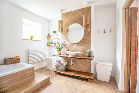 11 Ways to Boost and Refresh Your Bathroom By Adding Wood