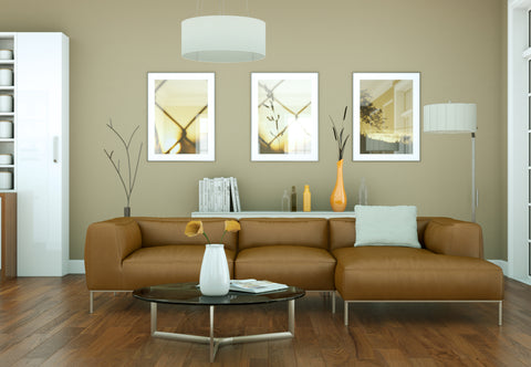 Beautiful Interior Design with Brown Color