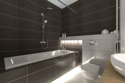 Black Bathroom, Yay or Nay