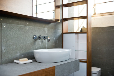 Concrete Wall Designs for Your Bathroom