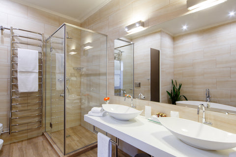 Hotel Bathroom Designs Do You Really Need to See Each Other Use the Bathroom