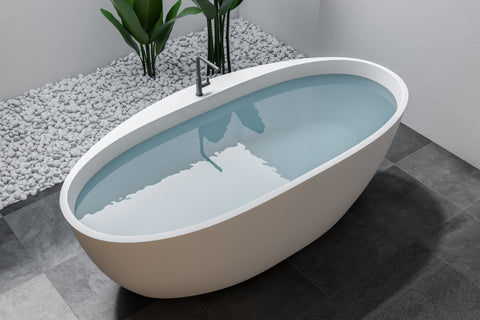 Natural Stone Bathtubs for a Classy Look – Room To Rooms