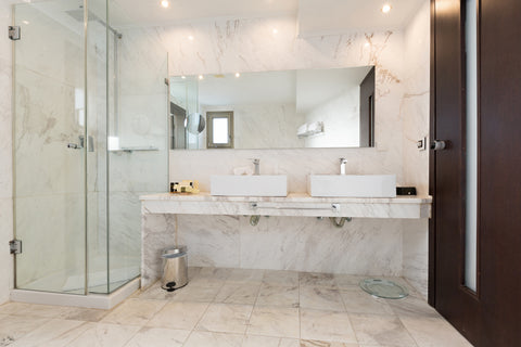 Natural Stone Floors for Your Bathroom