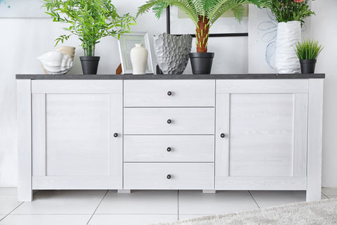 Repurposing A Buffet Or Dresser Into A Bathroom Vanity Room To Rooms