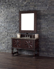 James Martin 150-V48-ANW Balmoral 48 Inch Single Vanity Cabinet, Antique Walnut