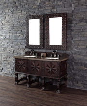 James Martin 150-V60S-ANW Balmoral 60 Inch Single Vanity Cabinet, Antique Walnut