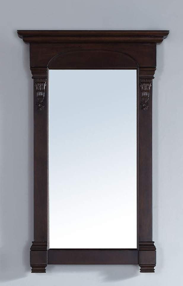 James Martin 147-114-5165 Brookfield 26 Inch Mirror, Burnished Mahogany