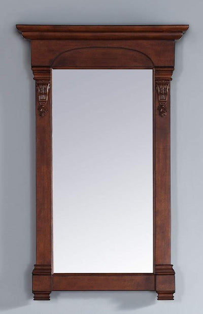 James Martin 147-114-5185 Brookfield 26 Inch Mirror, Warm Cherry