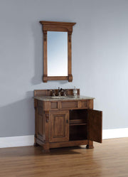 James Martin 147-114-5571 Brookfield 36 Inch Single Cabinet, Country Oak