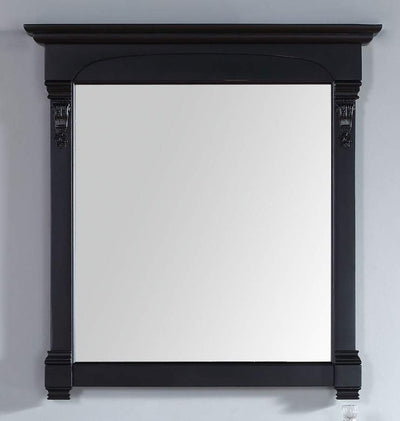 JAMES MARTIN 147-114-5335 BROOKFIELD 39.5 INCH MIRROR, ANTIQUE BLACK