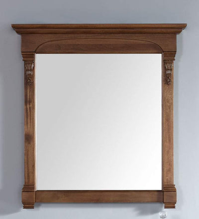 James Martin 147-114-5375 Brookfield 39.5 Inch Mirror, Country Oak
