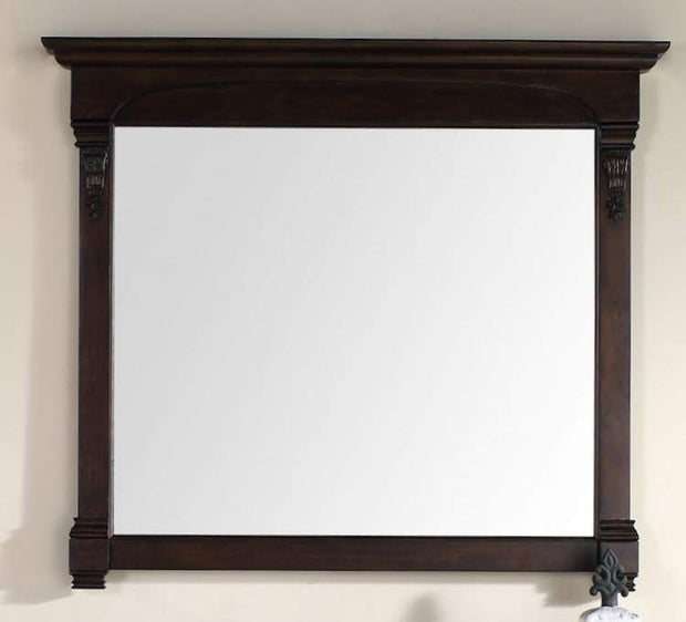 James Martin 147-114-5465 Brookfield 47.25 Inch Mirror, Burnished Mahogany