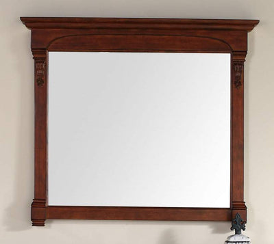James Martin 147-114-5485 Brookfield 47.25 Inch Mirror, Warm Cherry