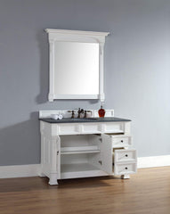 James Martin 147-114-5246 Brookfield 48 Inch Single Cabinet w/ Drawers, Cottage White