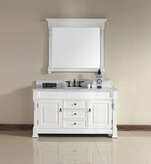 James Martin 147-114-5341 Brookfield 60 Inch Single Cabinet, Cottage White