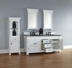 James Martin 147-114-5741 Brookfield 72 Inch Double Cabinet, Cottage White