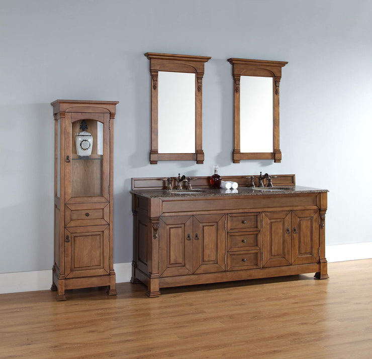 James Martin 147-114-5771 Brookfield 72 Inch Double Cabinet, Country Oak