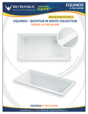 Room To Rooms Bathtubs by Wet Republic  A-T60-3019W