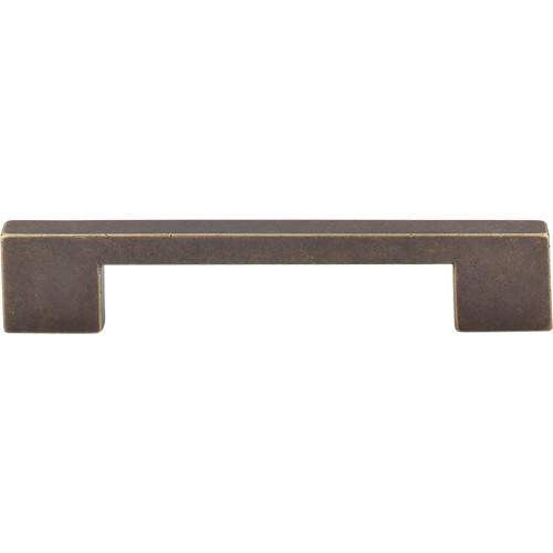 TOP KNOBS TK23GBZ SANCTUARY LINEAR PULL 5 INCH CENTER TO CENTER GERMAN BRONZE