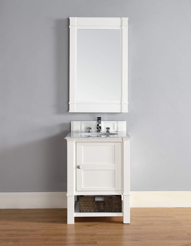 James Martin 800-V26-CWH Madison 26 Inch Single Vanity Cabinet, Cottage White