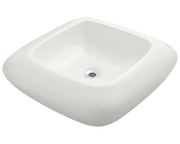 Polaris P001VB 20-1/8 INCH PILLOW TOP PORCELAIN VESSEL SINK