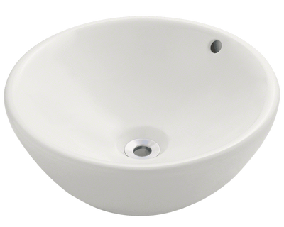 Polaris P0022VB 16-1/8 INCH PORCELAIN VESSEL SINK