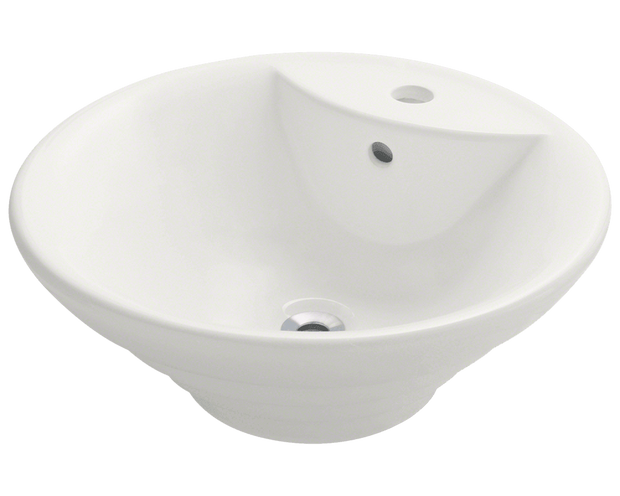 Polaris P002VB 19-1/8 INCH PORCELAIN VESSEL SINK