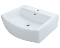 Polaris P003V 22 Inch Porcelain Vessel Sink